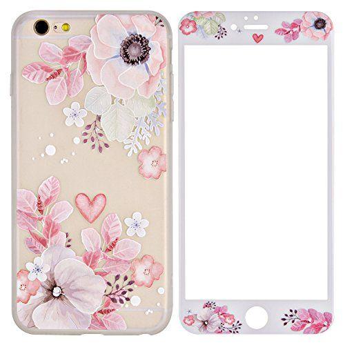 coque iphone 6 silicone fleur