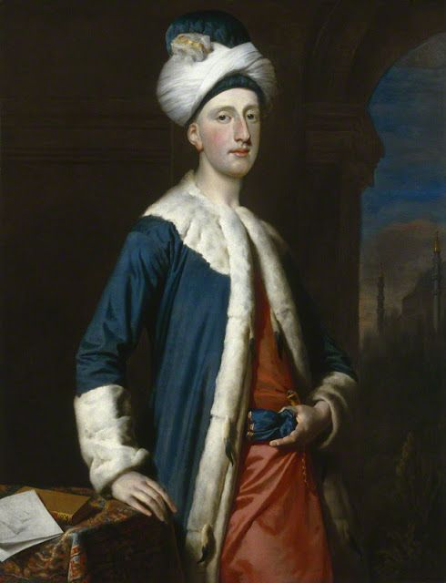 John Montagu, 4th Earl of Sandwich by Joseph Highmore,1740: