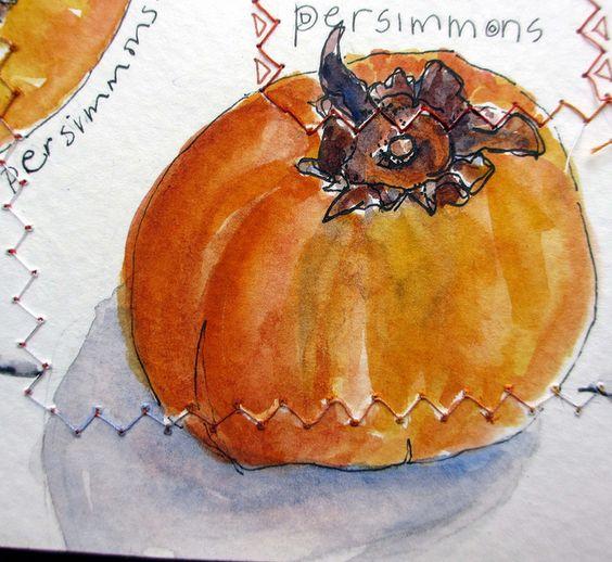 My sketchbook ~ orange detail | Flickr - Fotosharing!