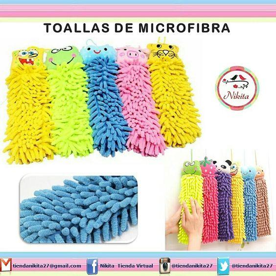 hermosas toallas decorativas de microfibra utilzalas para limpiar sacar polvo secarte las manos