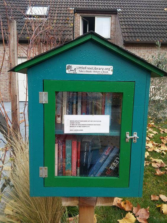 Boekenruilkast Gent-Oostakker 6