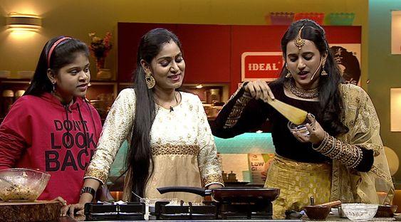 Celebrities Kavitha and Gayathiri Priya set to cook a scrumptious treat in COLORS Kitchen
