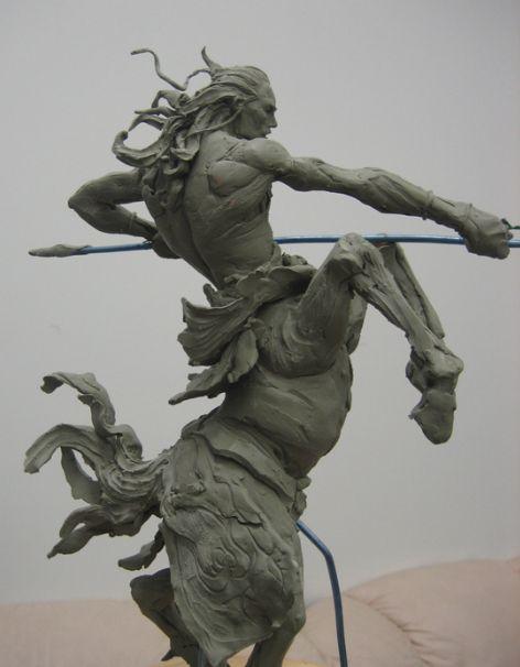 simon lee's 20 days of monsters - centaur