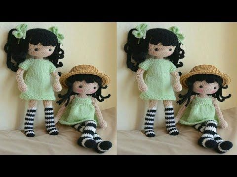 Boneca Dedé amigurumi | Bonecas de tricô, Bonecas, Modelo de urso ... | 360x480