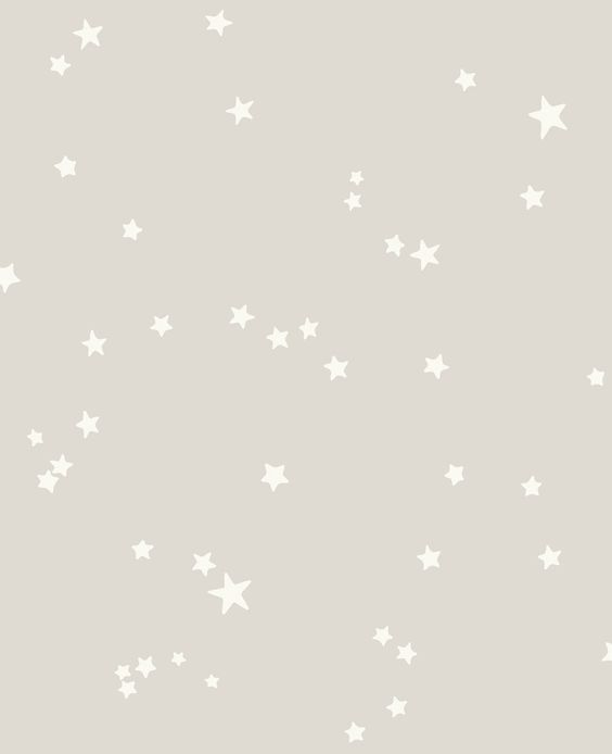 Stars Grey & White wallpaper by Cole & Son