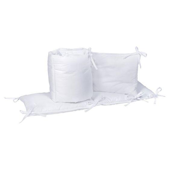 Trend Lab White Crib Bumpers - 101049