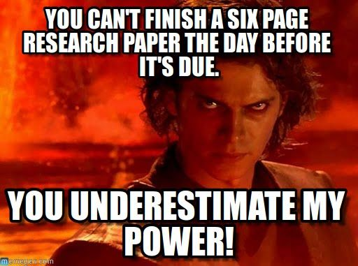 Star wars essays