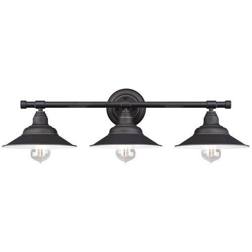 50 westinghouse deansen oil rubbed bronze 3 light vanity light dimensions h768 black vanity lighting