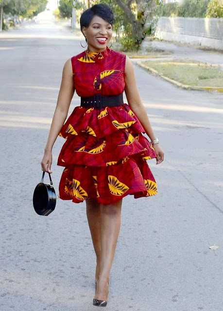 2019 Latest and Lovely Ankara Short Gown Styles