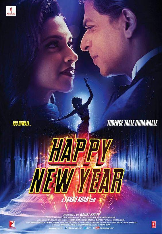Shah Rukh Khan and Deepika Padukone - Happy New Year (2014)