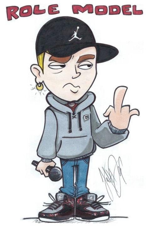 Image Result For Eminem Cartoon Eminem Drawing Eminem Wallpapers Hip Hop Art