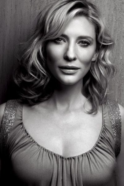 Cate Blanchett, I met her, husband & dog in a shop I worked in years ago. She was pregnant & all 3 of them were beautiful, regular souls