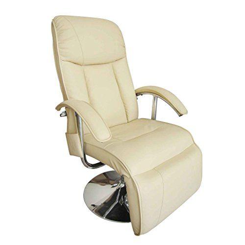 Vidaxl Fauteuil Relaxation Massage Relaxant Massant Electrique Blanc Creme Fauteuil De Massage Fauteuil Relax Et Chaise De Bureau Confortable