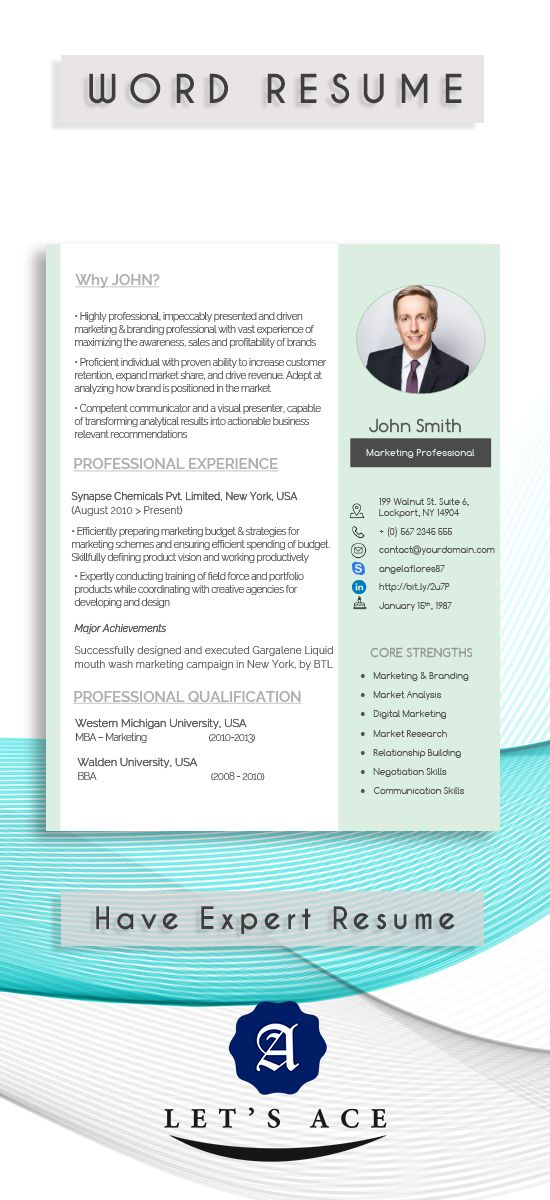 Bunch Of Attractive And Good Looking Resume Designs In Word Format To Be Downloaded Do Check Us Out Resume Cv Resume Tips Resume Resume Tips No Experience