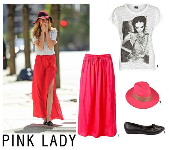 Maxi falda roja <3
