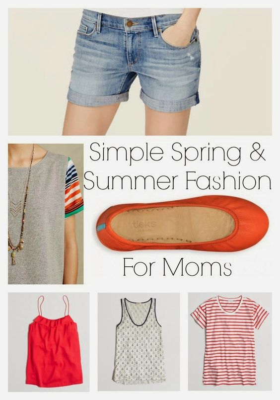 Simple Spring & Summer Fashion for Moms || The Chirping Moms