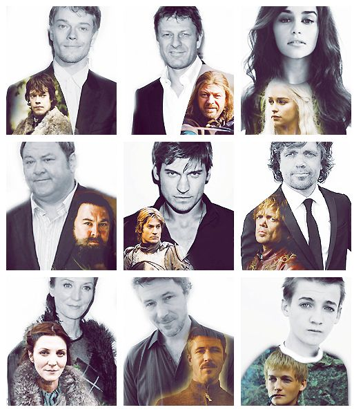 Game of Thrones cast... In and out of costume