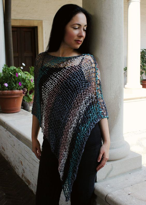Beginner Knitting Poncho : Plymouth poncho patterns and it is on pinterest