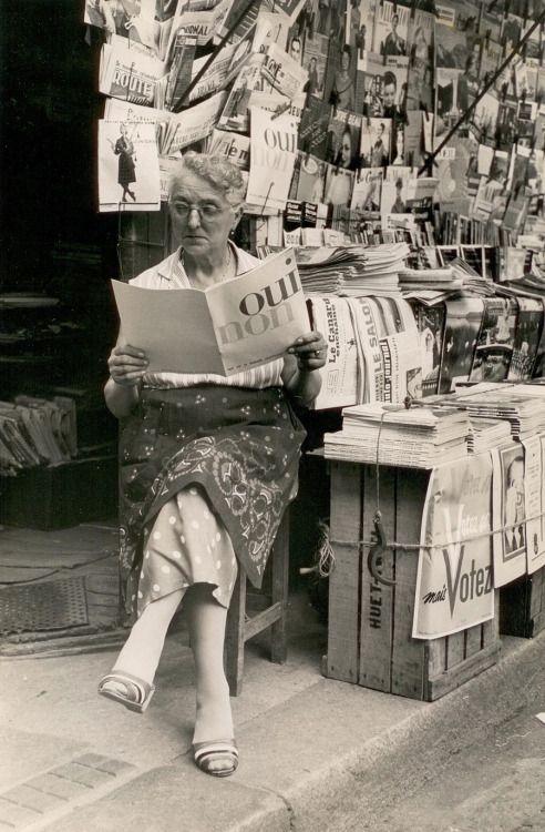 Paris, September, 1958, Gerard Castello Lopes. Portuguese (1925 - 2011)
