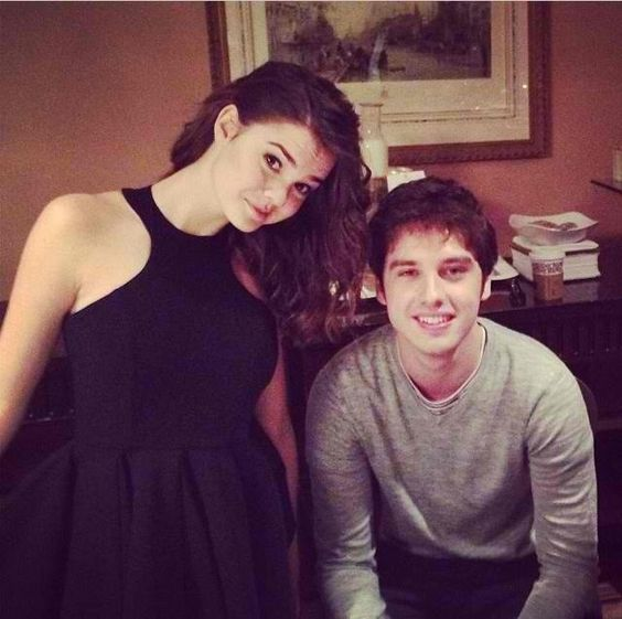 david lambert and maia mitchell relationship advice