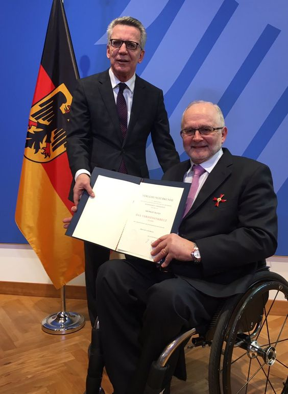 Wohooo congratulations to Sir Philip on receiving the German Federal Cross of Merit! https://t.co/lWRhanHhWJ