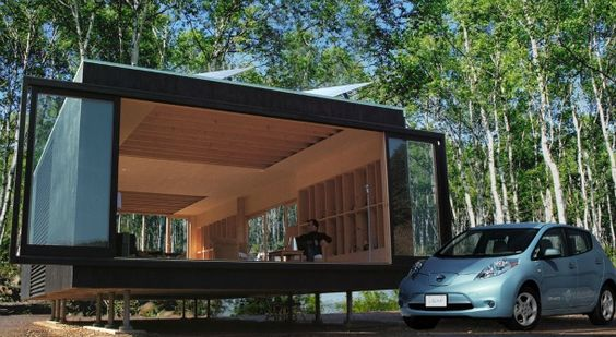 Off-the-grid living gets a facelift