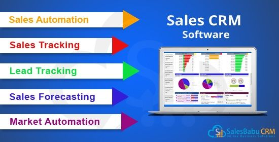 Sales management software tracks the sales opportunities, sales - sales forecast