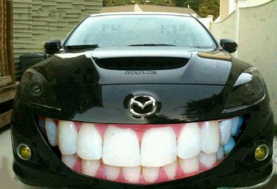 Must be an orthodontist car!