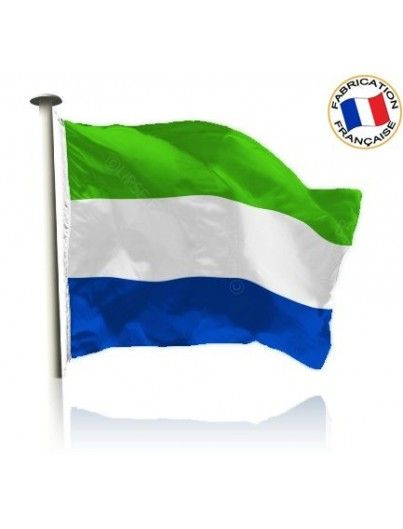 Drapeau Sierra Leone Made In France by Manufêtes
