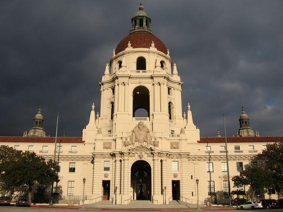 Among many spots in Pasadena I love to photograph! The City Hall.