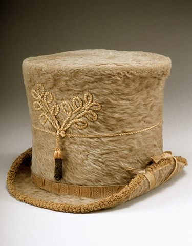 Lady's riding hat, David Whipple, c. 1810.