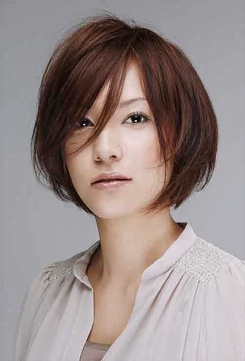 10 Trend Short Haircuts for Asian Women | http://www.short-hairstyles.co/10-trend-short-haircuts-for-asian-women.html