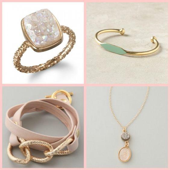 Glisten Up, People! via http://vogueandvodka.com/2012/04/25/glisten-up-people/, Dara Ettinger Ring - Garnett Bracelet - Gorjana Wrap Bracelet - Dara Ettinger Necklace