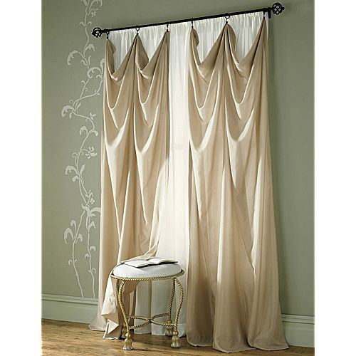 I want to do this; but with our shower curtain instead.