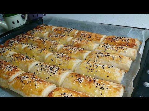 برك الجبنة المقرمشة برقائق البقلاوة سهلة وسريعة التحضير Youtube Hot Dog Buns Food Pastry