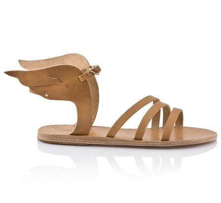 Hermes's sandals, what a cool guy