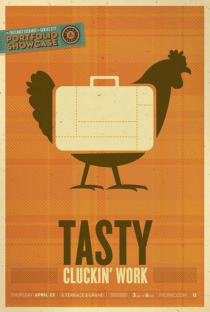 Portfolio Showcase Event Flyer by Whiskey Design, via Flickr
