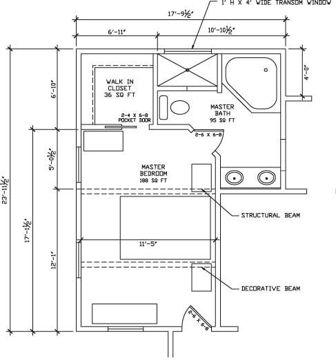 Master Bedroom Suite Floor Plan | Master Suite (What if...) | 405 ...
