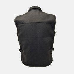 Motorcycle leather Vest biker jacket
