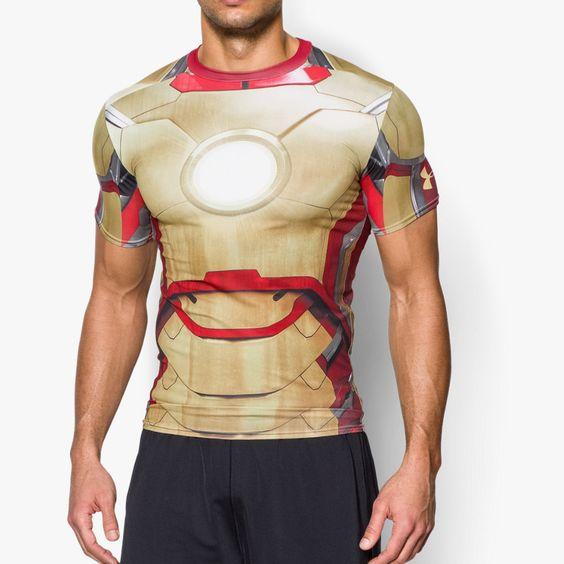 Herren Kompressions-Shirt Under Armour® Transform Yourself Iron Man | Under Armour DE