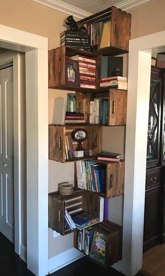 New Diy Bookshelf Ideas Diybookshelf Bookshelves Diy Home Diy