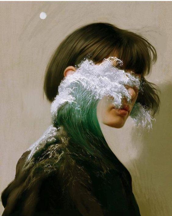 Digital illustrations by Aykut Aydoğdu - INAG | I Need A Guide | #art #painting