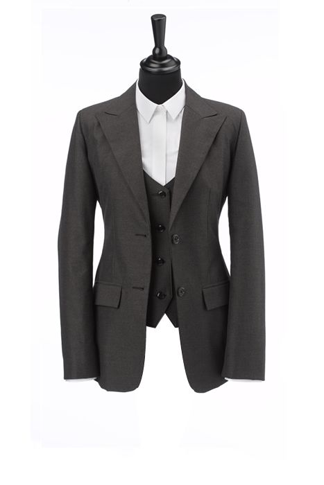 Three-piece Bespoke Suit (Women's) SO EXPENSIVE BUT AMAZING - Gala ...
