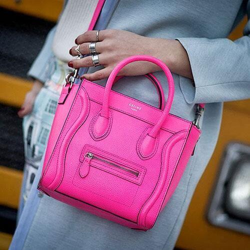 celine cabas bag - Celine Mini Luggage Pink | Bag Lady | Pinterest | Celine, Pink and ...