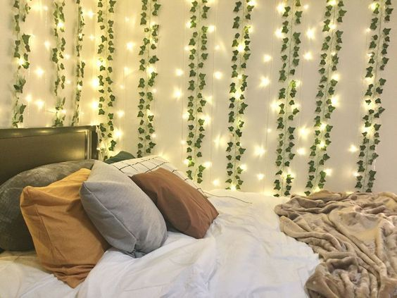 LED Wall Vine Lights by TapestryGirls.com in 8 | Dorm room ...