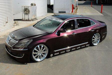   Mummbles Marketing Hyundai Elegant Equus V8 SEMA  Las Vegas