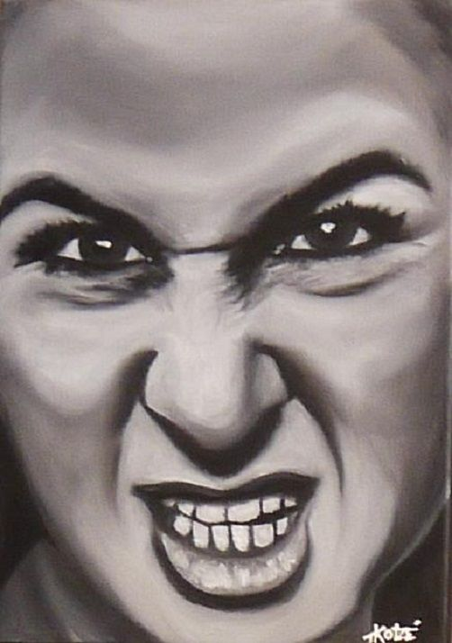 Grrr... by Treacey @ ArtonLine.ie the Online Art Gallery - Affordable Art direct from the Artist!