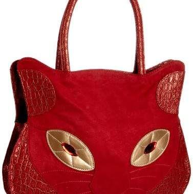 Irregular Choice Girls Scotty Dog 01 Clutch Bag Red ICMI005R