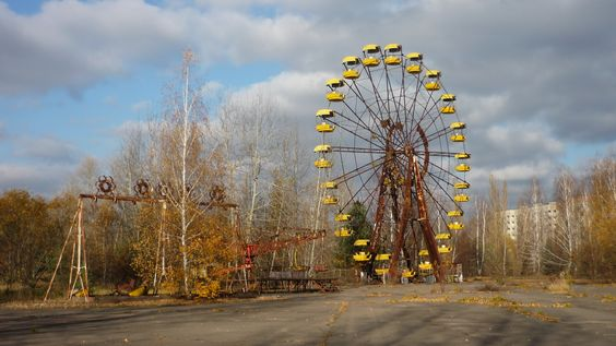 abandoned fairground - Google Search