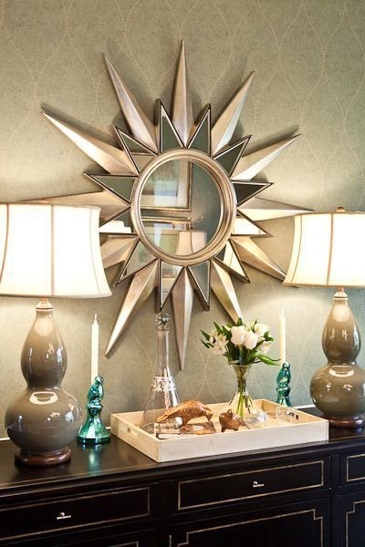 Art deco interiors marked by geometric patterns metallic for Art deco interior design elements